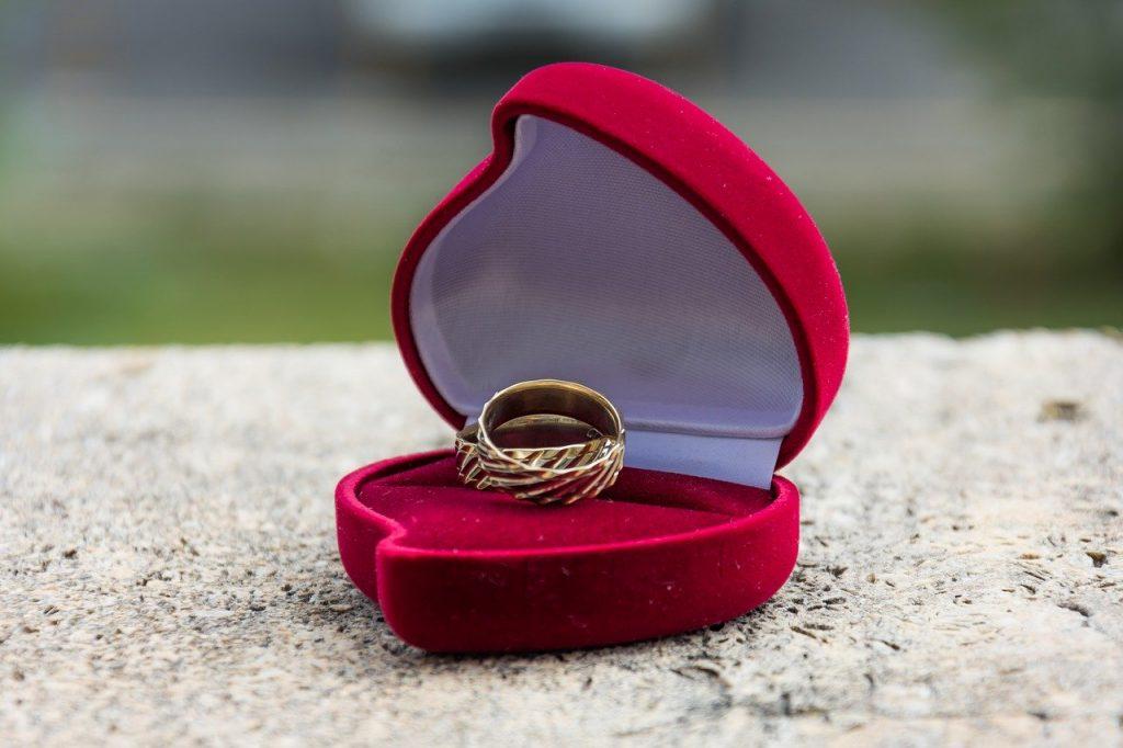wedding rings, wedding day, love